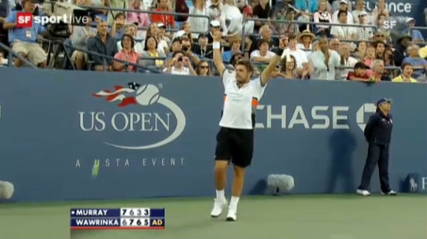 Video «US Open 2010: Highlights Wawrinka - Murray» abspielen