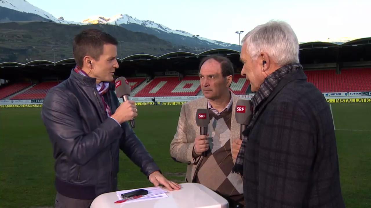 Fussball: SL, Sion - Luzern, Interview Ponte («sportlive», 09.03.2014)