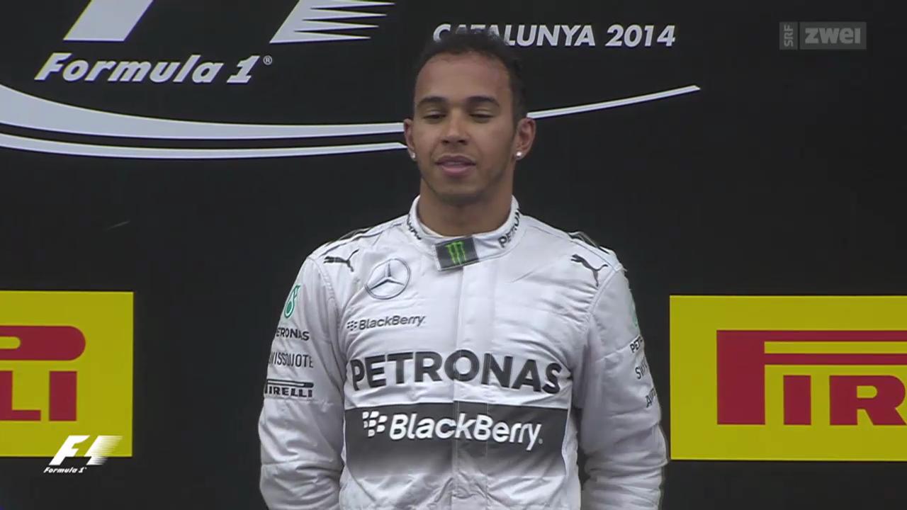 Formel 1: GP Spanien in Barcelona