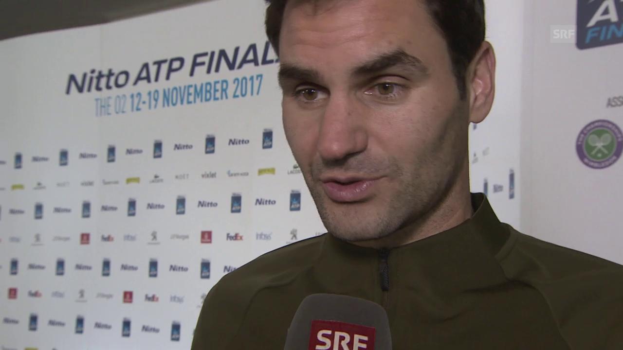 Federer: «Kann schon für Samstag planen»