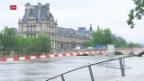 Video «Keine Unwetter-Entwarnung in Deutschland und Frankreich» abspielen