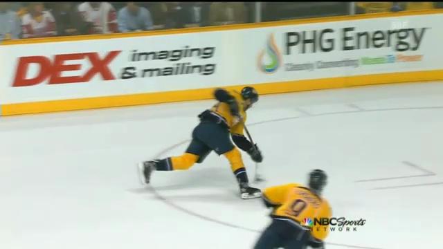 Eishockey: Josis Chance und Zetterbergs Treffer