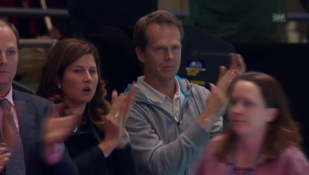 Video «Tennis: ATP Finals, Federer - Wawrinka» abspielen