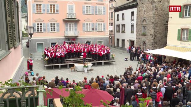 Laschar ir video «Chor da 100 umens Parc Naziunal Svizzer»