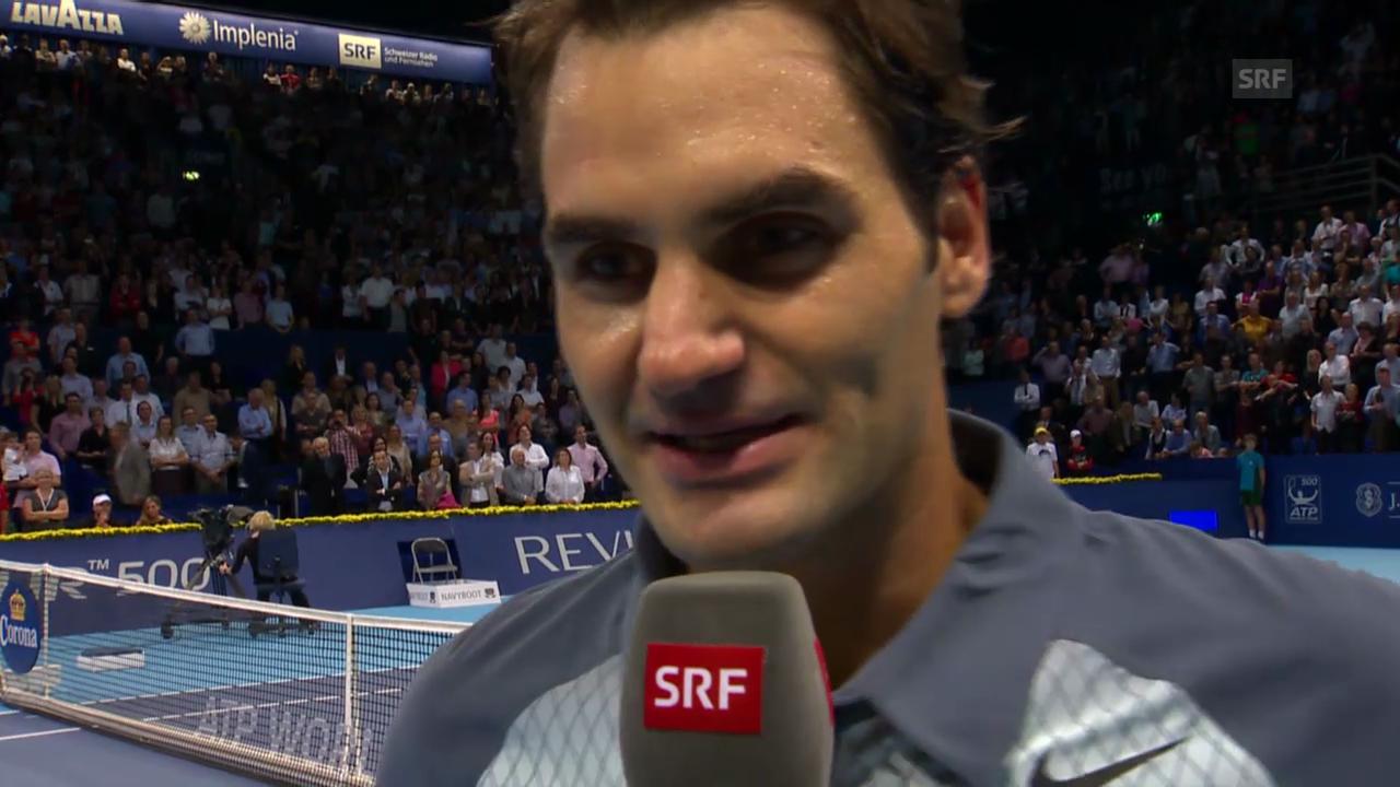 Interview mit Roger Federer («sportlive»)