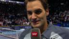Video «Interview mit Roger Federer («sportlive»)» abspielen