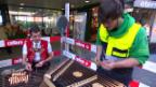 Video «Sennsationell: Auf der Baustelle» abspielen