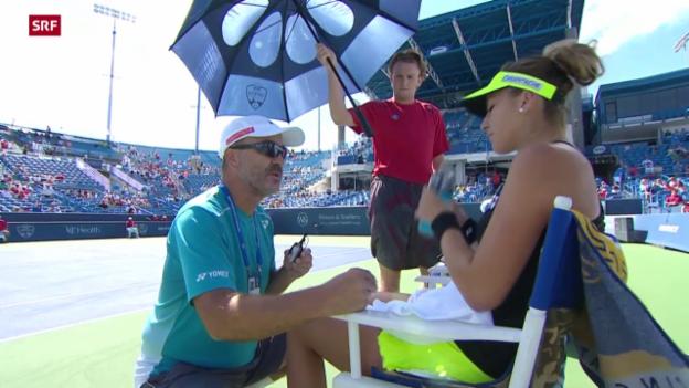 Video «Tennis: WTA-Turnier in Cincinnati» abspielen