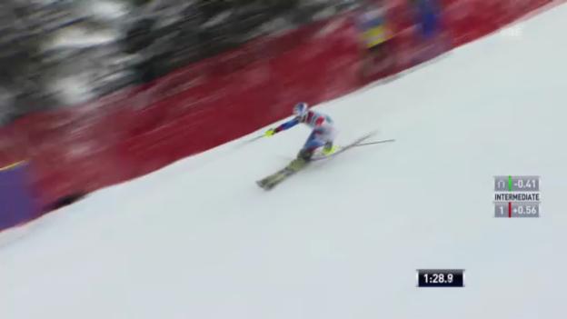 Video «Ski: 2. Lauf Markus Vogel («sportlive»)» abspielen