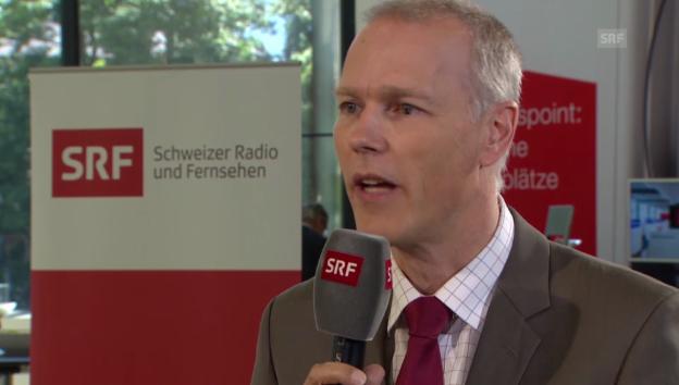 Video «Experte Sturm zum Schweizer Franken» abspielen