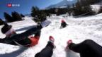 Video «Erstes Downhill Hindernisrennen der Schweiz» abspielen