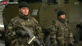 Video «Armee im Sicherheits-Stress» abspielen