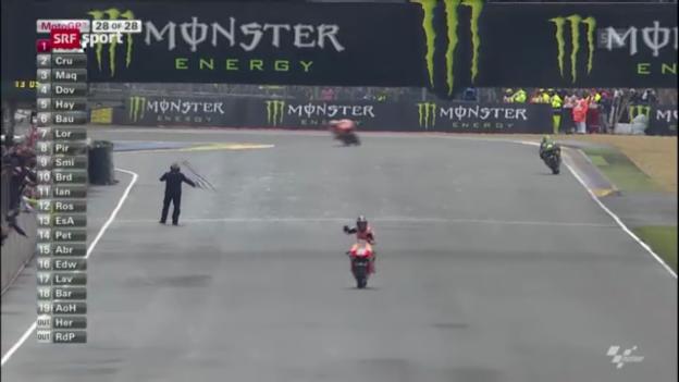 Video «Moto GP Le Mans («sportaktuell»)» abspielen
