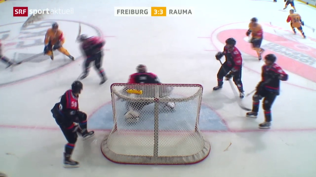 Eishockey: Champions Hockey League, Freiburg - Rauma