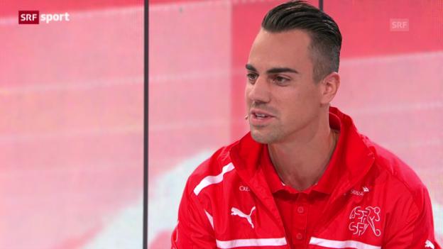 Video «Benaglio über seine Rolle im Nationalteam» abspielen