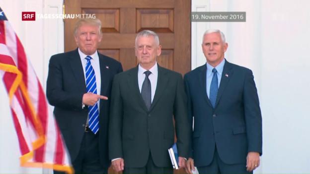 Video «James Mattis wird US-Verteidigungsminister» abspielen