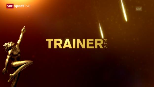 Video «Sports Awards: Wer wird Trainer des Jahres?» abspielen