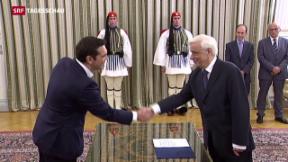 Video «Mission Tsipras unmöglich?» abspielen