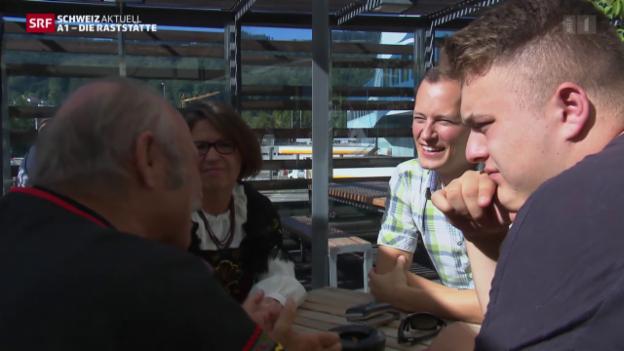 Video «Einzug in die Raststätte & auf Patrouille mit der Kapo Zürich» abspielen
