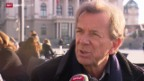 Video «Fussball: Fifa-Präsidentenfall, Herausforderer für Sepp Blatter» abspielen