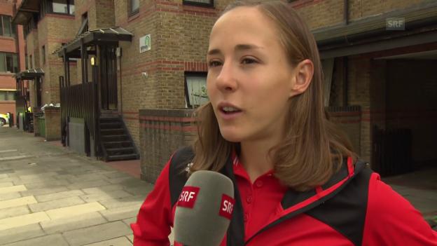 Video «Selina Büchel über ihre Ziele an der WM in London» abspielen