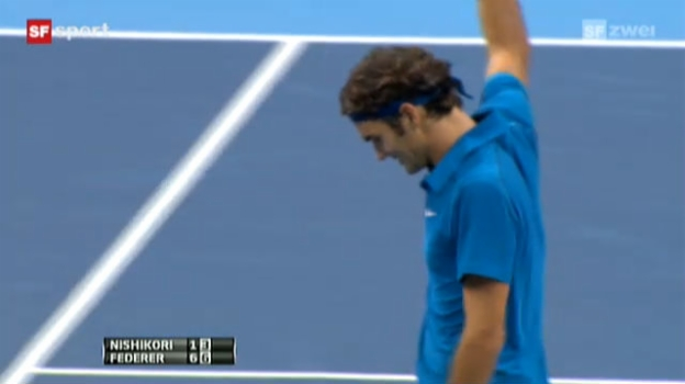 Video «Tennis: Final Swiss Indoors» abspielen