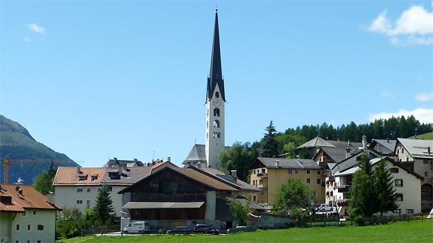 Glockengeläut der Kirche San Luzi, Zuoz