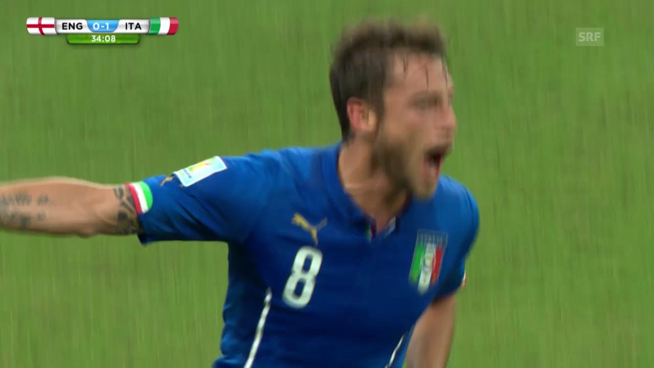 Fussball: WM 2014, England-Italien