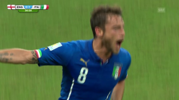 Video «Fussball: WM 2014, England-Italien» abspielen