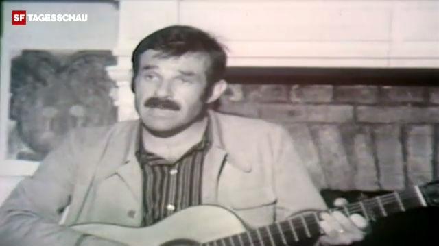 Mani Matter singt «Dene wo's guet geit» (1972)