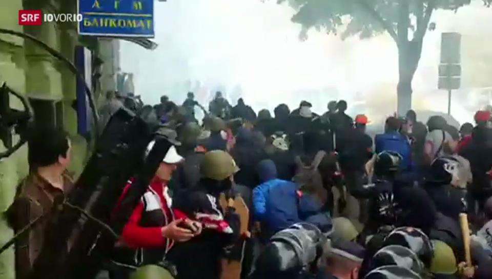 Der Ukraine droht ein Bürgerkrieg