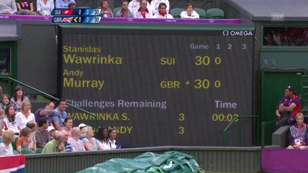 Video «London 2012: Murray auf dem Weg zum Olympiasieg» abspielen