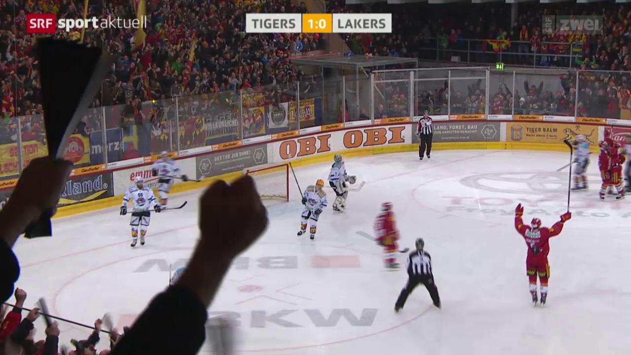 Eishockey: Liga-Qualifikation, SCL Tigers - Lakers