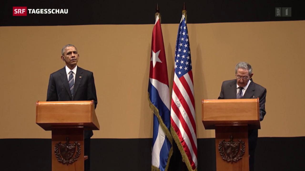 Obama auf Kuba