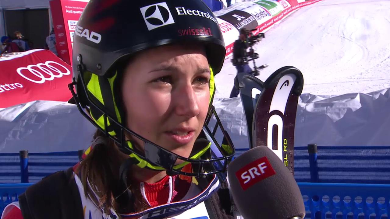 Ski-WM, Vail/Beaver Creek, SL Frauen, Interview Holdener