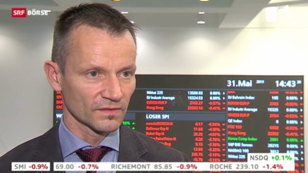 Video «SRF Börse vom 31.05.2013» abspielen