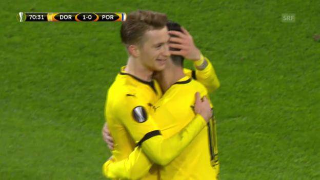 Video «EL: BVB - Porto» abspielen