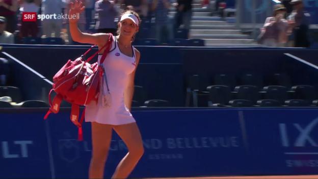 Video «Masarovas WTA-Debüt erst im Halbfinal gestoppt» abspielen