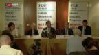 Video «FDP-Fraktion tritt mit drei Kandidaten zur Bundesratswahl an» abspielen