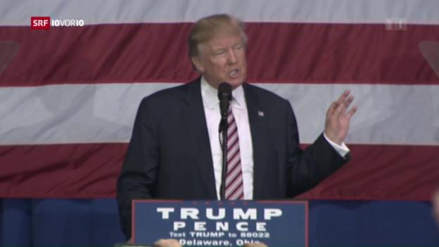 Video «Dritte US-Debatte» abspielen