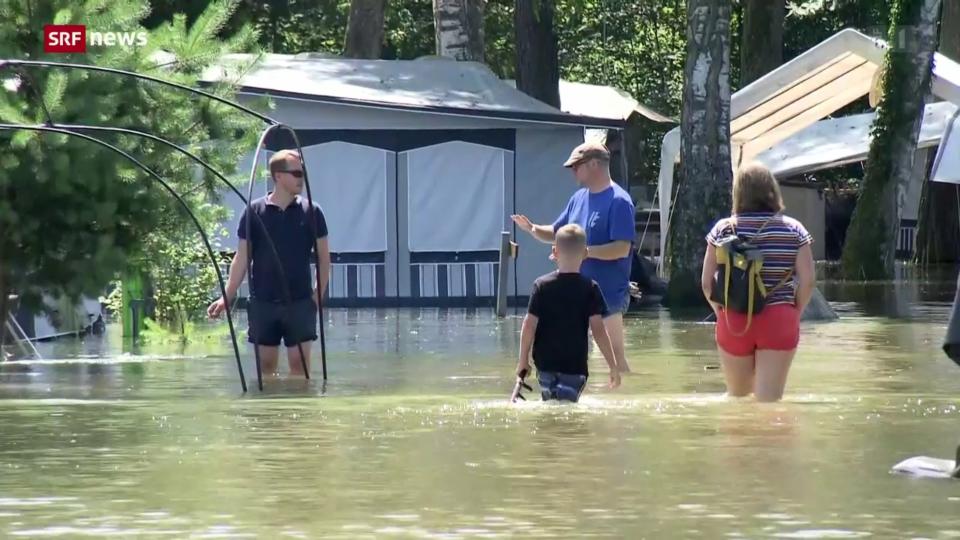 Hochwasserlage entspannt sich – aber nicht überall