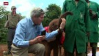 Video «Kerry und das Selfie mit dem Elefanten» abspielen