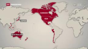 Video «Trump will transpazifisches Handelsabkommen kippen» abspielen