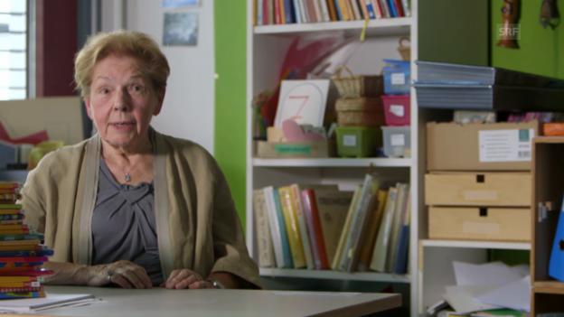 Video «Lehrerin Martha Ryf über das Wiedersehen mit Claudia und Roger» abspielen