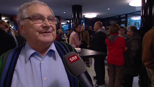 Video «Jörg Schneider über Bücher und Schoggi» abspielen