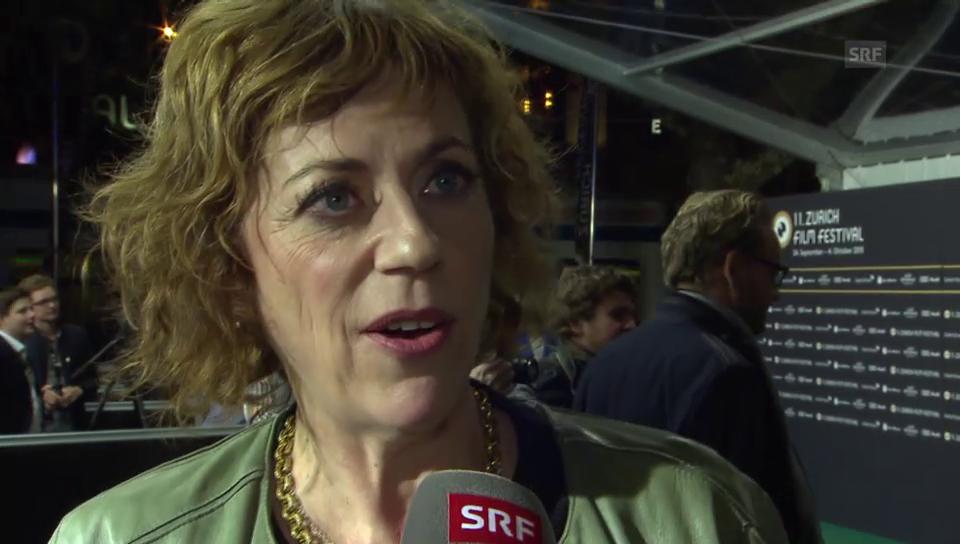 Sabine Boss am ZFF