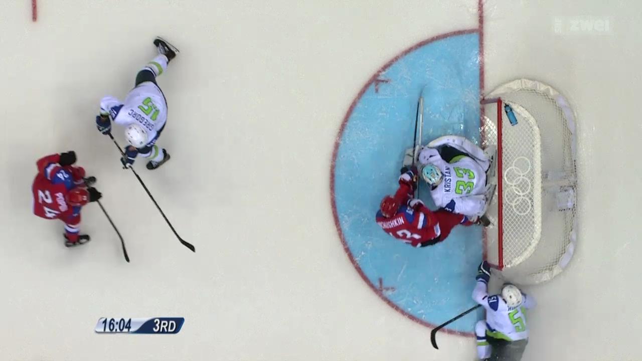 Eishockey: Russland startet gegen Slowenien ins Turnier