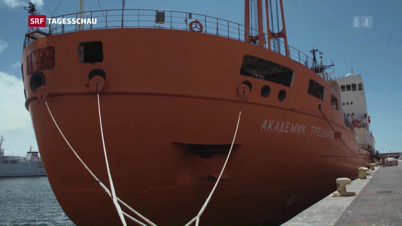 Antarktis-Expedition unter Schweizer Federführung