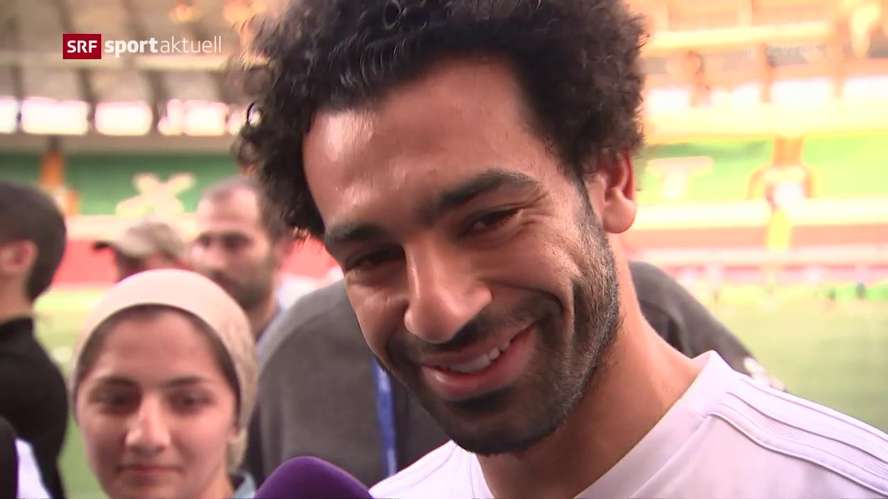FIFA WM 2018: Darum spielte Salah nicht gegen Uruguay