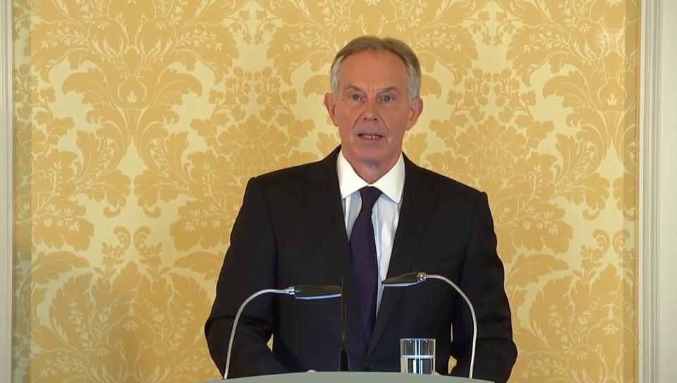 Blair: «Ich übernehme die volle Verantwortung»